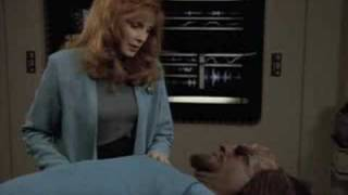 Repeat youtube video Worf suffers a life threatining injury