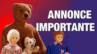 ANNONCE IMPORTANTE !!!