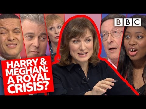 Are Harry and Meghan destroying the Royal Family? | Question Time - BBC
