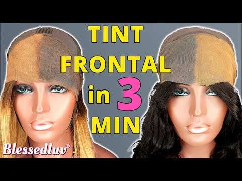 🔴STOP Bleaching The Knots On Lace Frontals| DO THIS INSTEAD| for Beginners| Frontal Wig Blessedluv