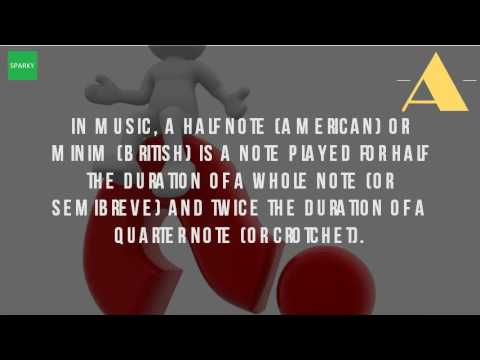 What Is A Minim In Music?