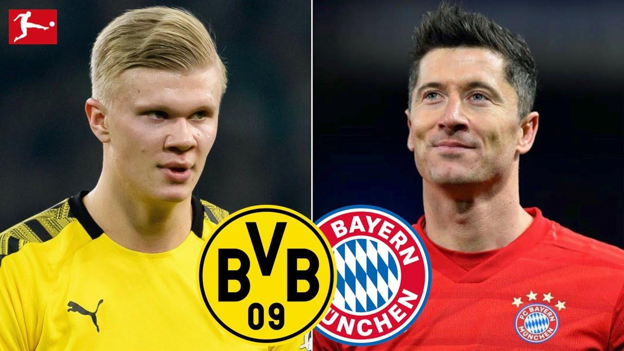 Borussia Dortmund Vs Bayern Munich Bundesliga 2020 Tactical Preview Youtube