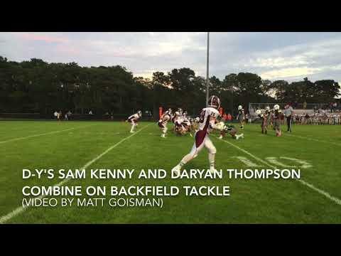 Falmouth vs. Dennis-Yarmouth Football Highlights