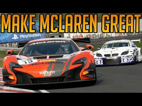 Gran Turismo Sport: Making Mclaren Great Again thumbnail
