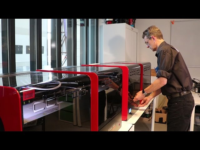 3D printing: Speciaal 2m²ABS project geprint door FabLab ICER