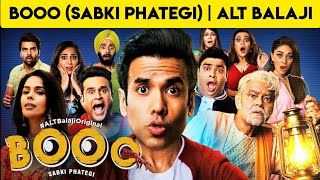 BOOO (SABKI PHATEGI) | #ALTBALAJI WEB SERIES | HORROR-COMEDY | #STORY EXPLAINED BY #NERDFLIX