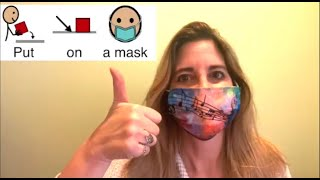 Back to Class PUT ON a mask:Transition song with AAC Core: GO, PUT, ON