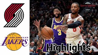 Trail Blazers vs Lakers HIGHLIGHTS Full Game | NBA February 26