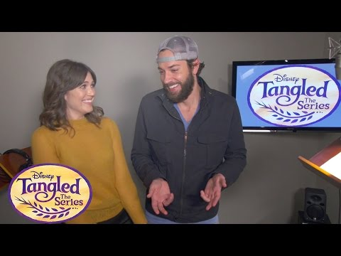 Mandy Moore & Zachary Levi Teaser | Tangled The Series | Disney Channel