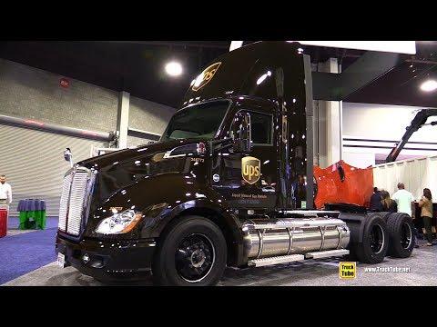 2017 Kenworth UPS LNG Gas Engine Truck - Walkaround - 2017 NACV Show Atlanta