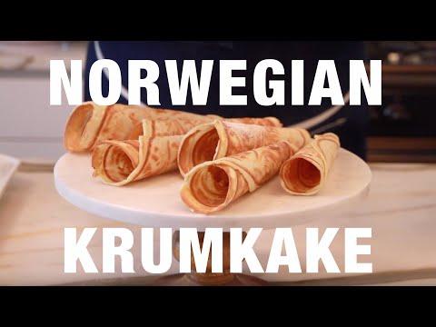 How to Make Norwegian Krumkake Crisp Holiday Cookies with Genevieve Gorder