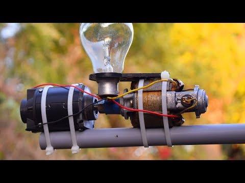 Free Energy Generator 230v Bulbs