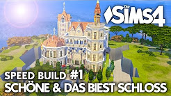 Die Schöne & das Biest Schloss bauen | Die Sims 4 Speed Build