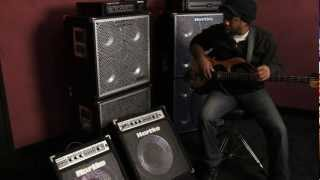 victor wooten playing and talking about the hartke a70 and a100 bass combo amps