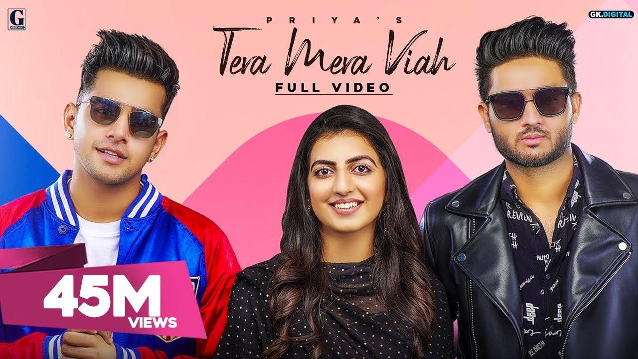 Download Tera Mera Viah : PRIYA (Full Song) Jass Manak | Rav Dhillon | MixSingh | GK DIGITAL | Geet MP3