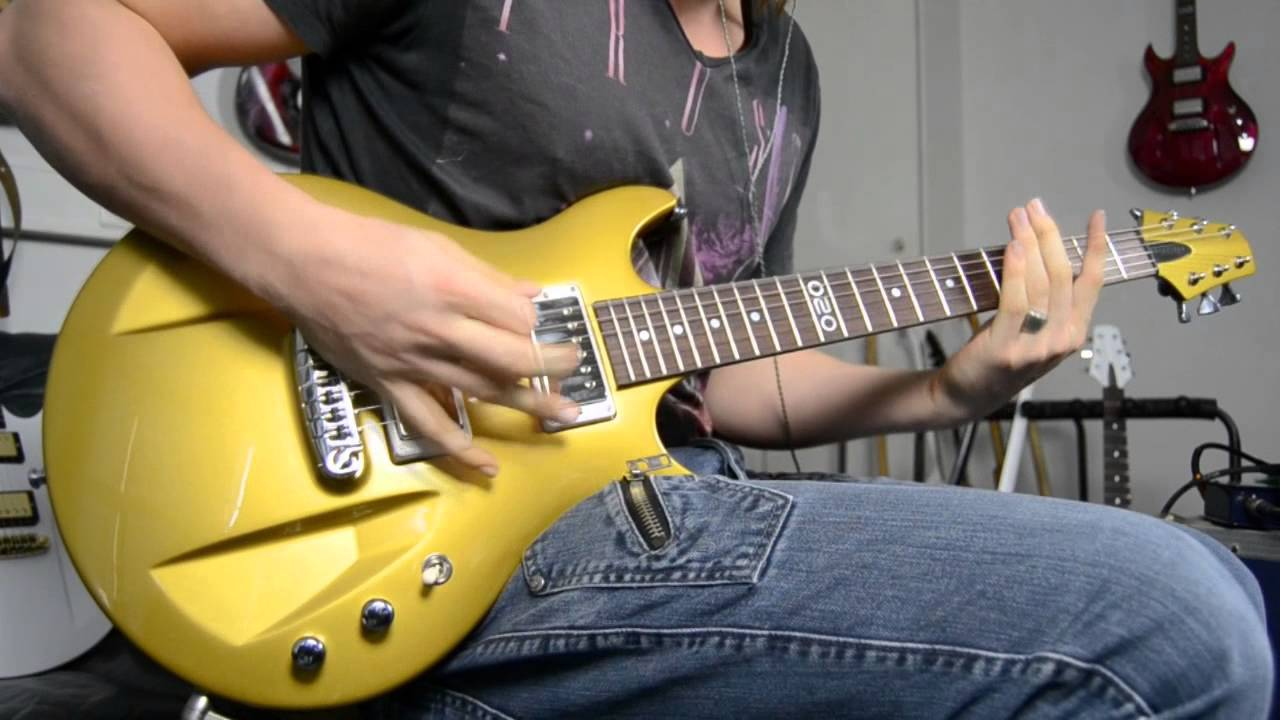 aristides 020 gold distortion demo electric guitar youtube. Black Bedroom Furniture Sets. Home Design Ideas