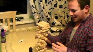 The most intense game of Jenga ever!