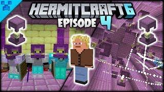 A New Lodger! INSANE Gear Upgrades!   Hermitcraft 6 (Minecraft Survival Let