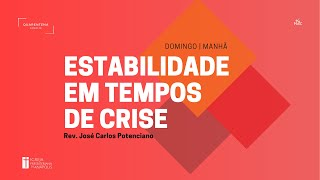 Culto Matutino - 29/03/2020 - 1 Reis 19:1-21 - Pr. José Carlos Potenciano