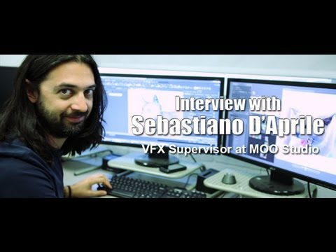 Interview with Sebastiano D'Aprile - VFX Supervisor at Moo Studios
