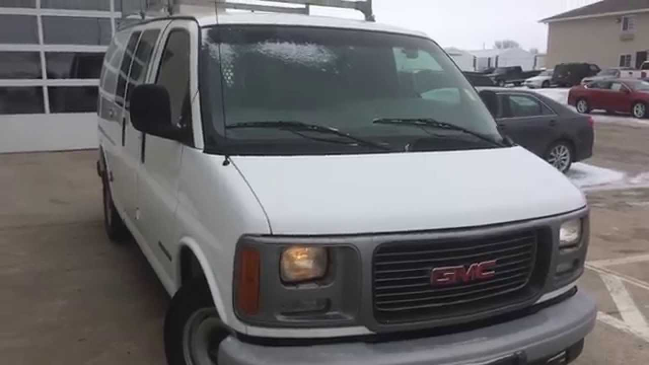 2000 Gmc Savana 2500 >> 2000 GMC SAVANA CARGO VAN 2500 OKOBOJI MOTOR COMPANY SPIRIT LAKE, IOWA - YouTube