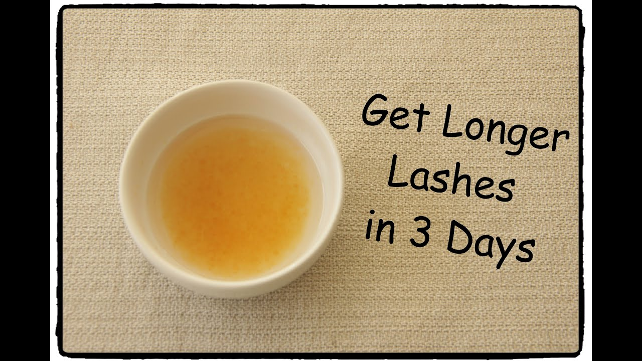 Longer Lashes In 3 Days Youtube