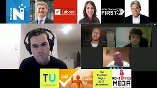 The Unshackled and Right Minds New Zealand Election Night Livestream - Saturday 23rd Sepetember 2017
