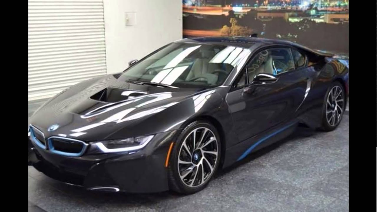 2016 Bmw I8 Sophisto Grey Metallic With Frozen Blue Accent Youtube