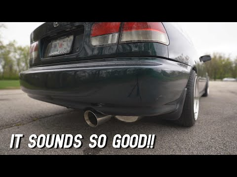 The Best Sounding Exhaust EVER - Yonaka Catback Exhaust Civic