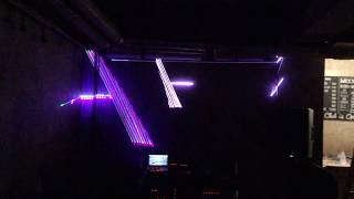 vector synthesis/oscilloscope music/lissajous curve with laser