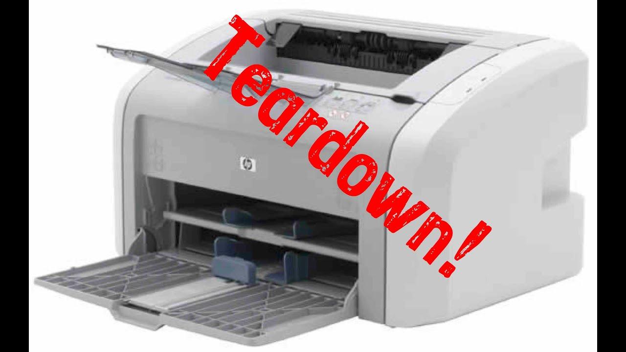 hp laserjet 1020 teardown youtube rh youtube com HP LaserJet Toner HP LaserJet Laser Printer