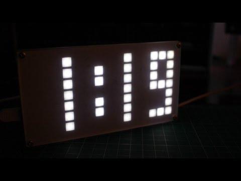 DIY DS3231 Dot Matrix Alarm Clock Kit     DIY LED Clock Kit     Kit building #001