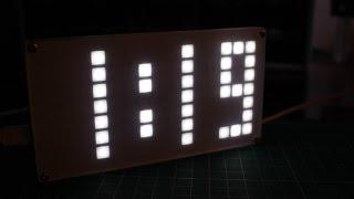 DIY DS3231 Dot Matrix Alarm Clock Kit  || DIY LED Clock Kit  || Kit building #001