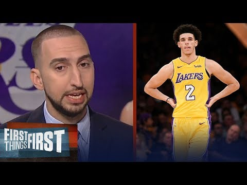 Nick Wright has not lost any confidence in Lonzo Ball after his debut in L.A. | FIRST THINGS FIRST