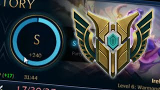 HOW TO GET AN S RANK (Level 6 & 7 Champion Mastery)