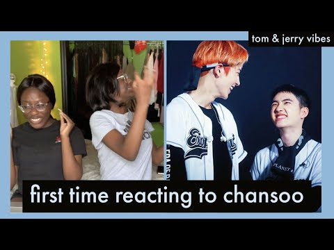 FIRST TIME REACTING TO CHANSOO