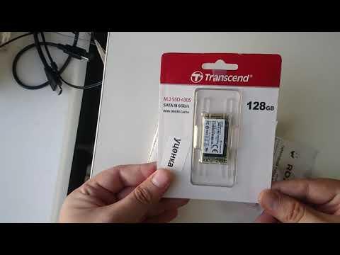 Transcend SSD MTS430S 128GB M.2 SATA III 3D NAND TLC (TS128GMTS430S)