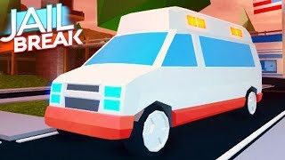 🌋 MAKING THE JAILBREAK VOLCANO ERUPT FASTER | NEW AMBULANCE RIP BADCC (Roblox Jailbreak Update)