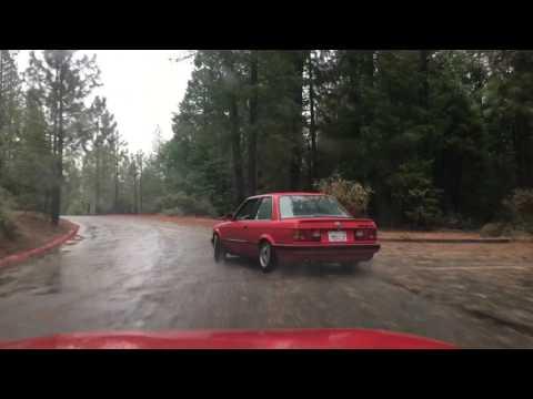 BMW e30 street drifting