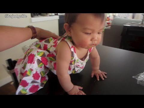 Escapes high chair! – July 14, 2013 – itsJudysLife Vlog