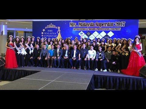 Mrs Malaysia Superstar 2017 Appeciation & Awards Presentation Ceremony Highlight