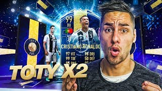 CR7 99 TOTY! THE BEST OPENING PACK OF MY LIFE !!