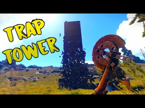 TWIG TOWER TRAP BASE - Rust