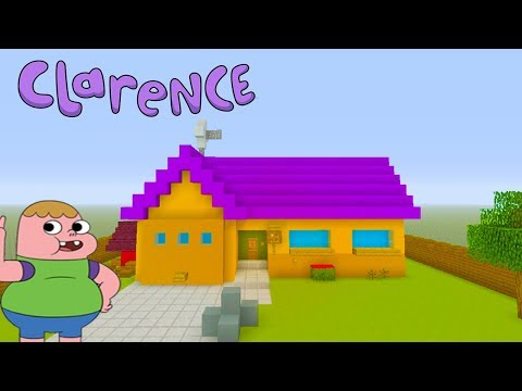 "Minecraft Tutorial: How To Make Clarences House ""Clarence (U.S. TV series)"""