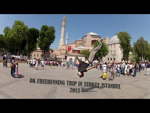 DK - Istanbul (Turkey) Freerunning Action 2013