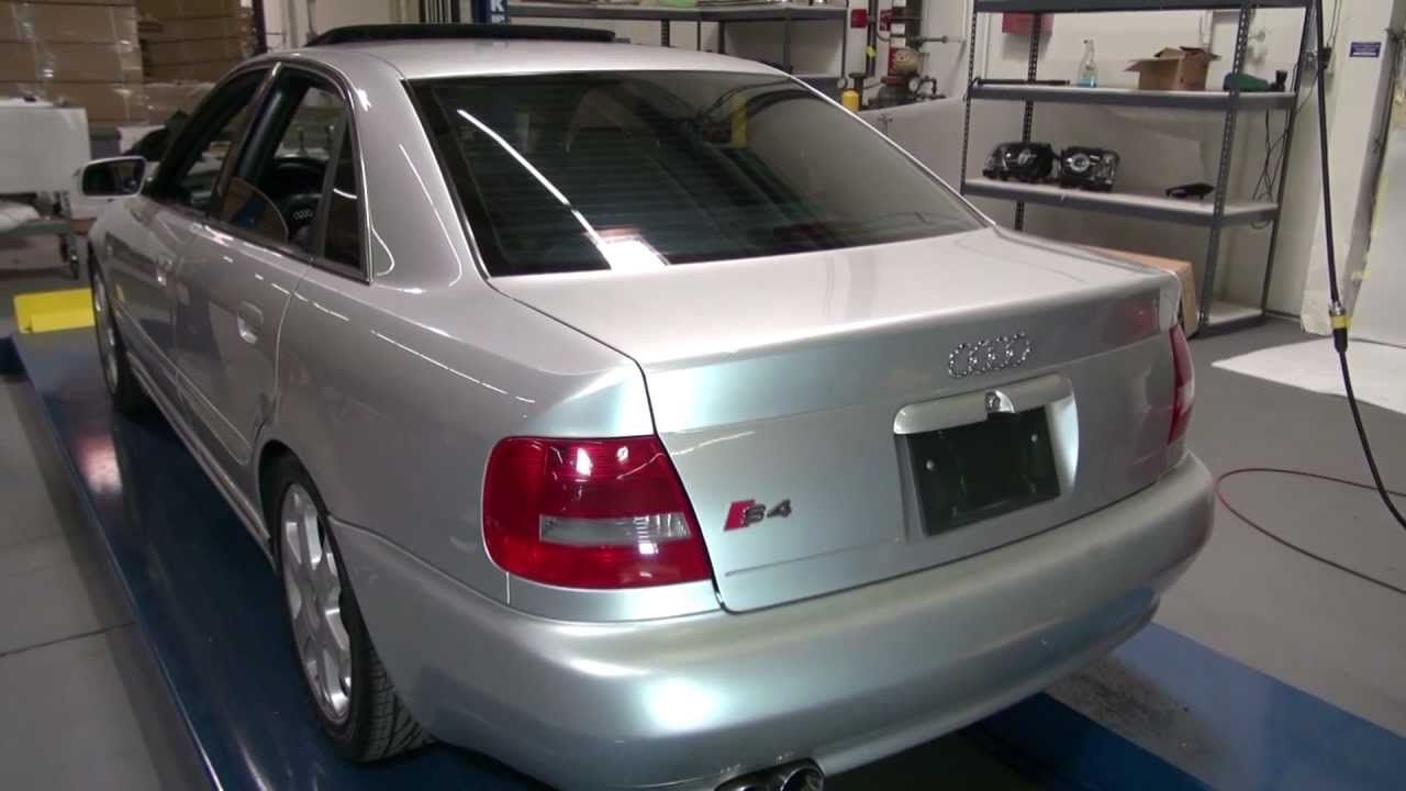 hight resolution of  spyder auto installation 1996 2001 audi a4 s4 sedan led tail lights youtube
