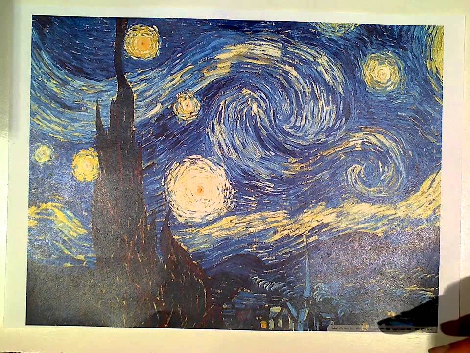 starry night essay Introduction starry night is one of the most popular canvasesin contemporary doctrine along with being one of the most fake and pursued after images this picture was done by vincent new wave gogh when he was at an refuge in saint-remy in 1889it is said that this picture is a position out of van gogh's [.