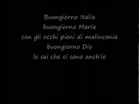 Toto Cutugno  Litaliano with lyrics