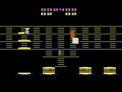 Atari 2600 Burger Time