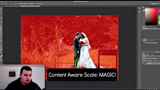 Content Aware Scale: CRAZY PHOTOSHOP MAGIC!